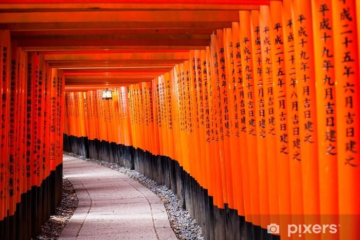 Papier peint vinyle Fushimi Inari Taisha à Kyoto, Japon - Asie