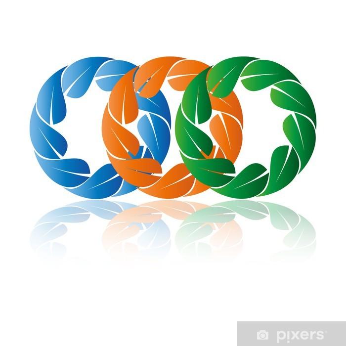 Poster Логотип природа - Zeichen und Symbole