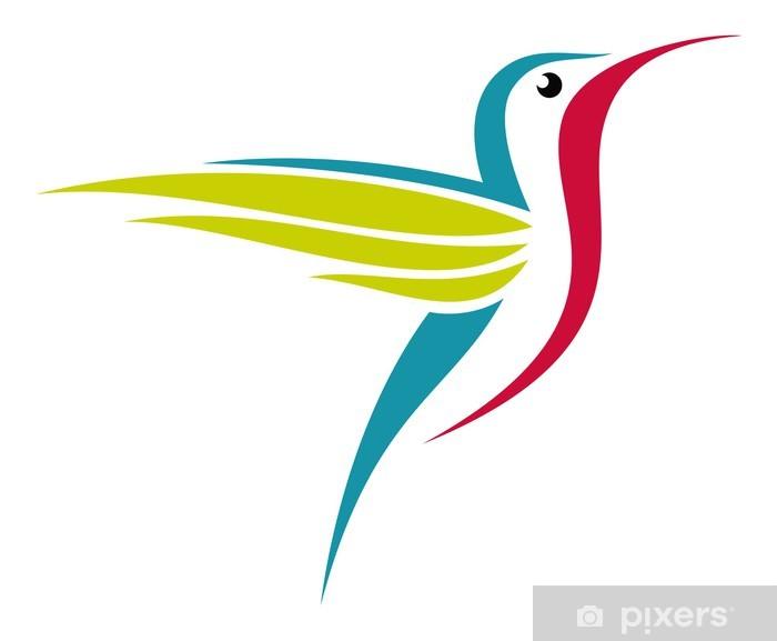 Carta da Parati in Vinile Colibr - Uccelli