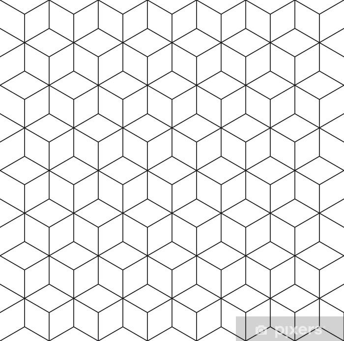 Pixerstick Sticker Patroon kubus achtergrond - Viering