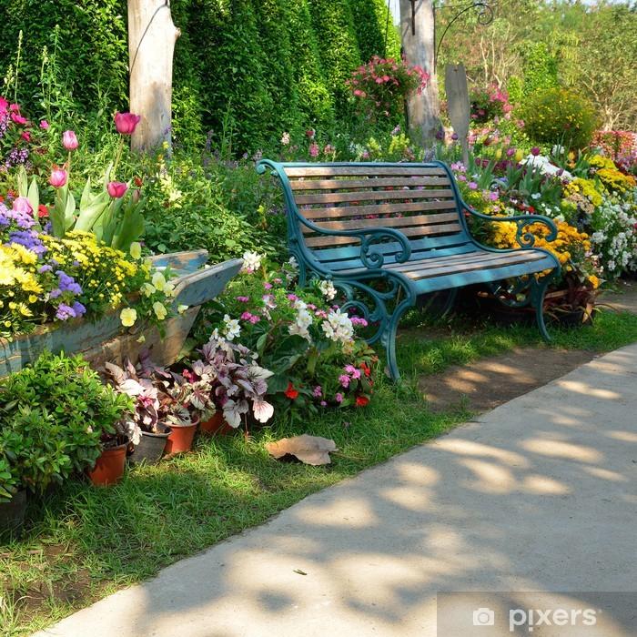 Flowers Spring Summer Garden Wall Mural