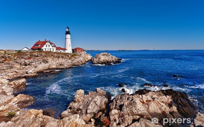 Fotomural Estándar Faro principal de Portland en Cape Elizabeth, Maine - Faro