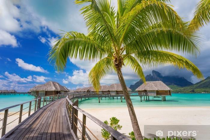 Naklejka Pixerstick Droga do raju - Plaża i tropiki