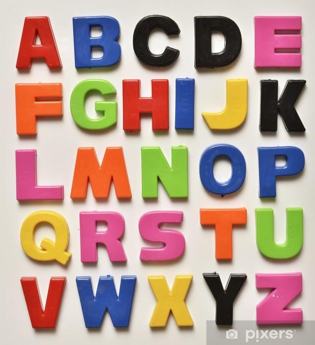 Siste Pixerstick-klistremerke Engelsk alfabet • Pixers® - Vi lever for LA-01