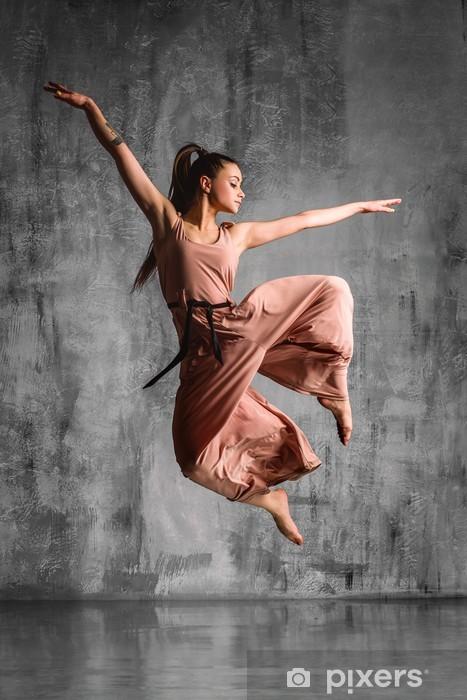 Papier peint vinyle Le danseur - Thèmes