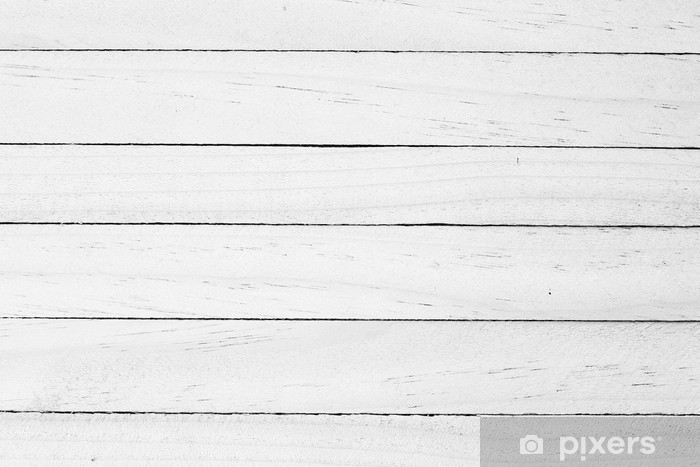 White wood background Vinyl Wall Mural - Styles