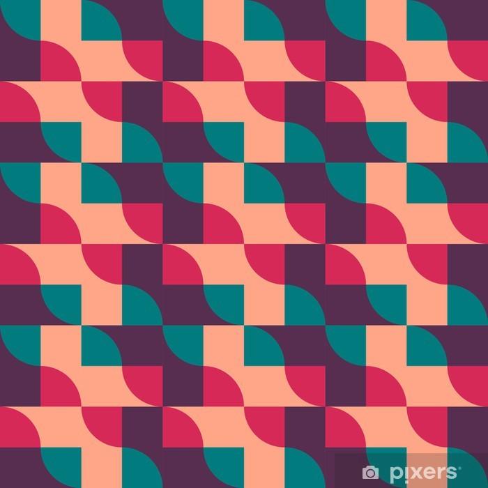 Vinyl-Fototapete Retro Jahrgang nahtlose Muster. Vektor-Illustration - Leben