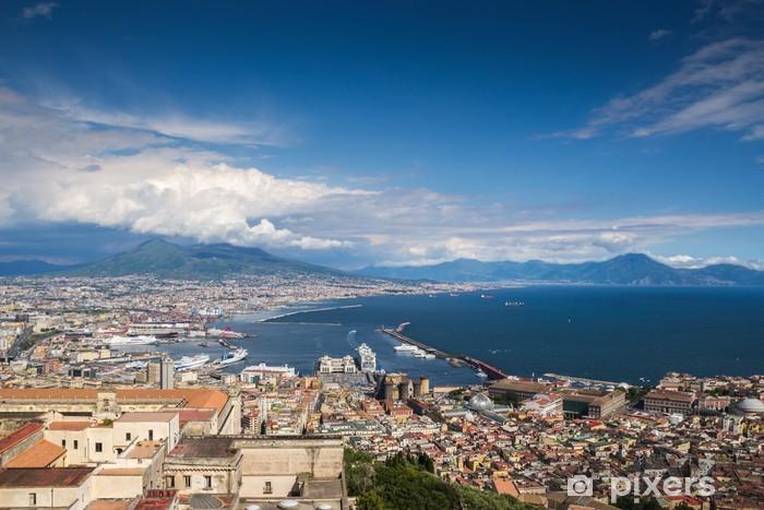 Nálepka Pixerstick Neapol - Itálie - Město