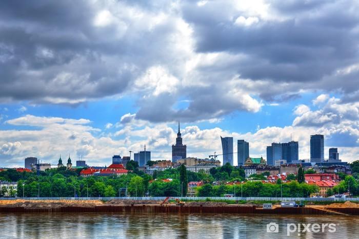 Vinilo Pixerstick Panorama de Warsaw.HDR-alto rango dinámico - Temas