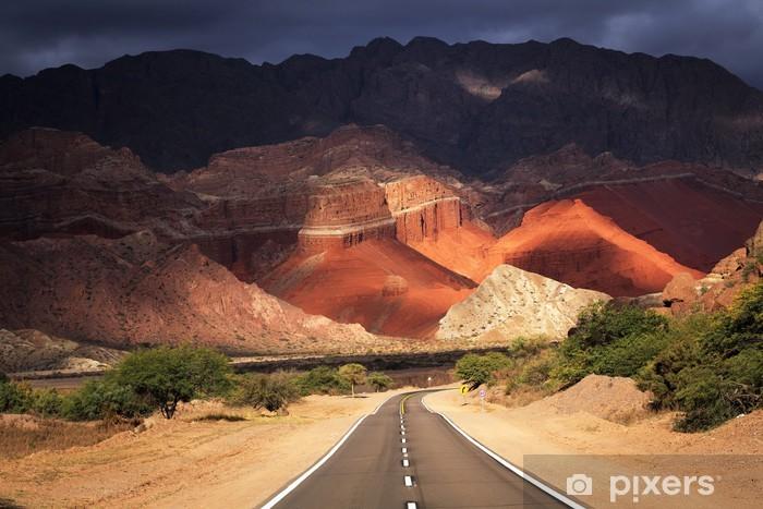 Pixerstick Aufkleber Quebrada de Cafayate, Salta, Argentinien - Themen