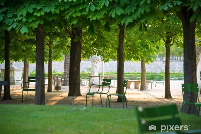 Fototapeta winylowa Park - Budynki użyteczności publicznej