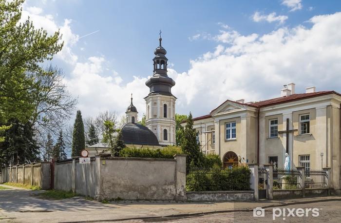 Pixerstick Aufkleber Kirche von Sankt Nikolaus in Zamosc - Europa