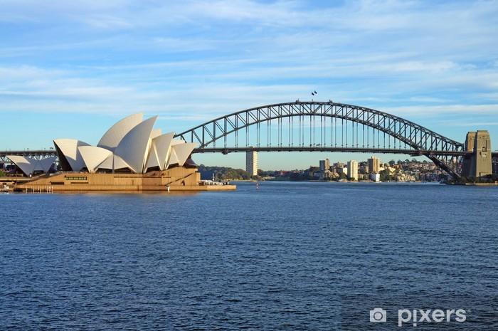 Pixerstick Aufkleber Die Sydney Harbour Bridge und das Opernhaus - Themen