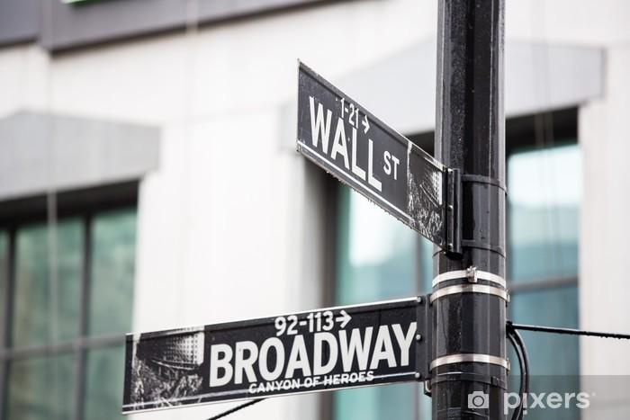 Fotomural Estándar Wall street - Temas