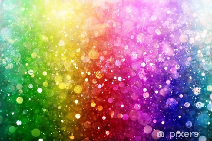 Vinyl Fotobehang Regenboog van verlichting - Regenbogen