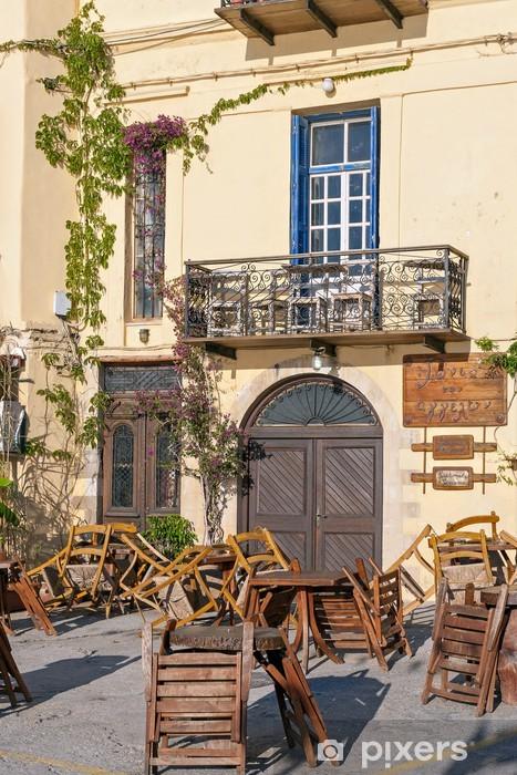 Fototapeta winylowa Przed godzinach otwarcia restauracji - Europa