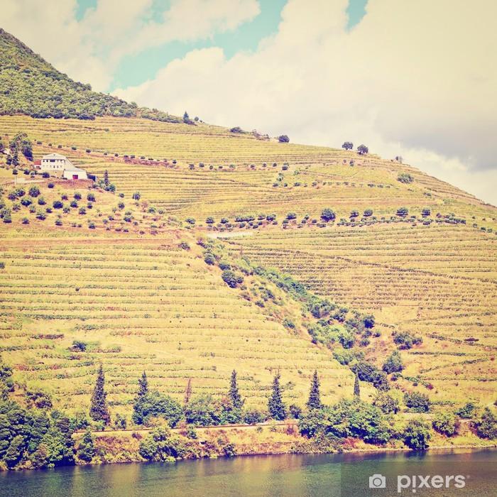 Fototapeta winylowa Taras - Pory roku