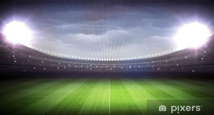 Naklejka Pixerstick Stadion - Football amerykański