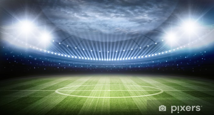 Pixerstick Sticker Stadion - American Football