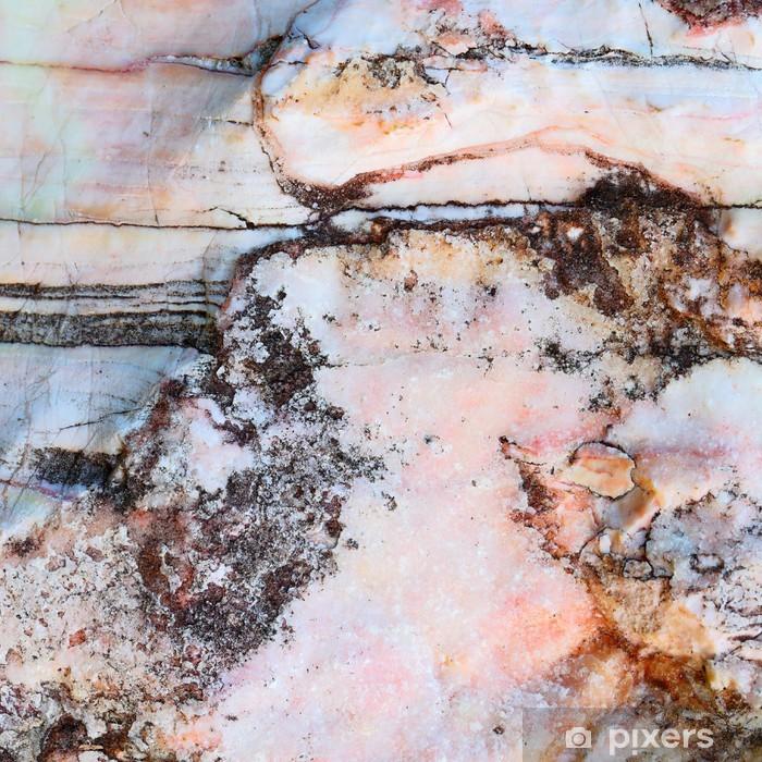 Fototapeta winylowa Krzywa linia na tle tekstury kamienia marmuru - Surowce
