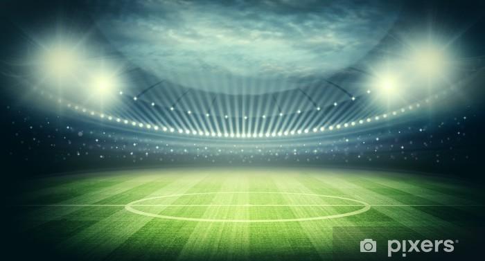 Stadium Pixerstick Sticker - American football