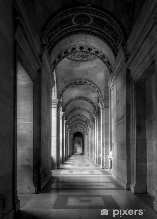 Vinilo para Nevera Galerie du Louvre, París -