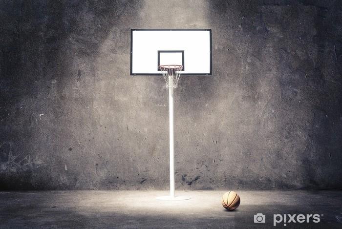 basketball hoop Vinyl Wall Mural - Basketball