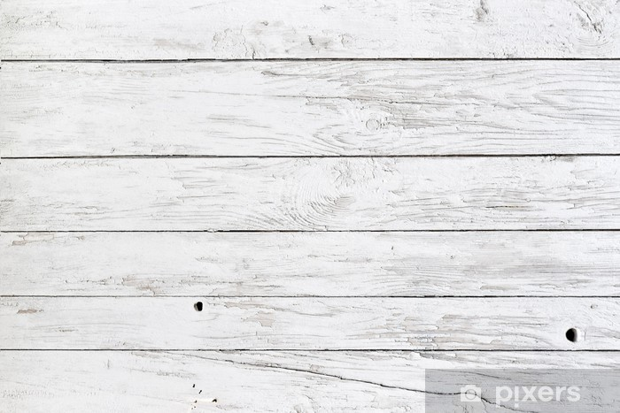 Fotomural Estándar White planks - Estilos