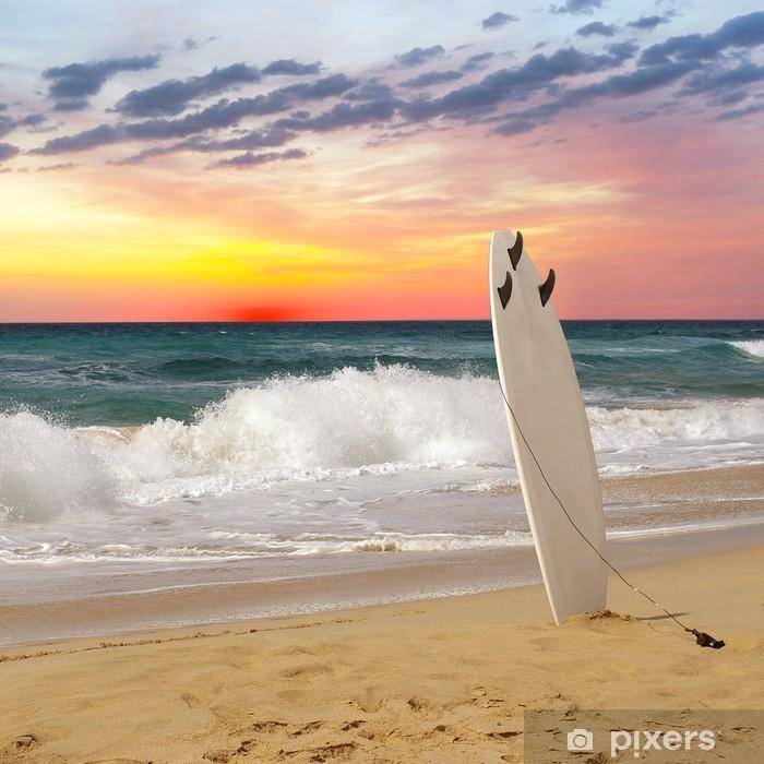 Fototapet av Vinyl Surfing - Teman