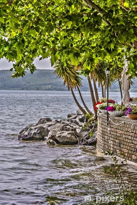 Fototapeta winylowa Oaza nad jeziorem - Europa