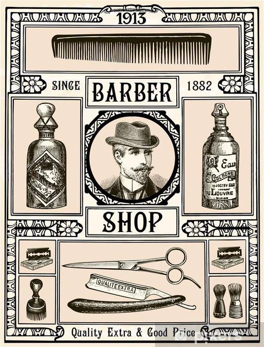 Papier peint vinyle Barber Shop - Destin