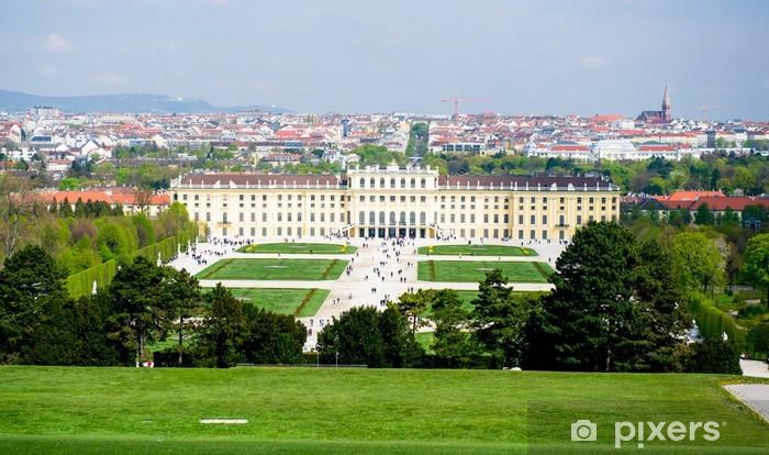 Vinilo Pixerstick Palacio de Schonbrunn - Europa