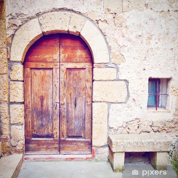 Naklejka Pixerstick Drzwi - Budynki prywatne