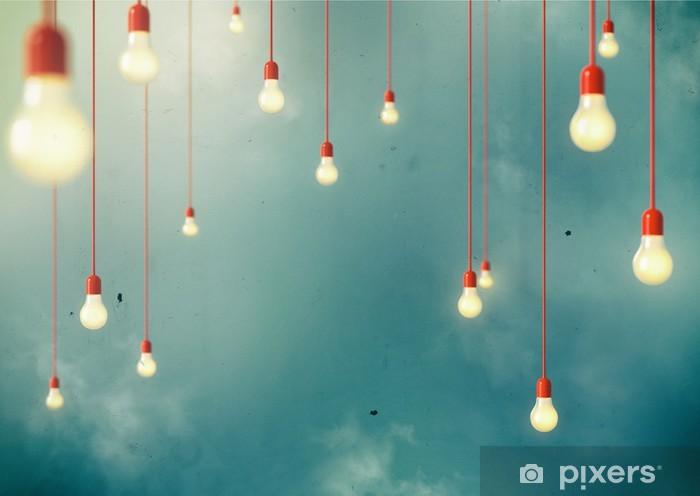 Zelfklevend Fotobehang Hangend - Bestemmingen