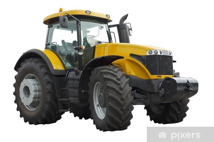 Vinilo Pixerstick Tractor agrícola - Vinilo para pared