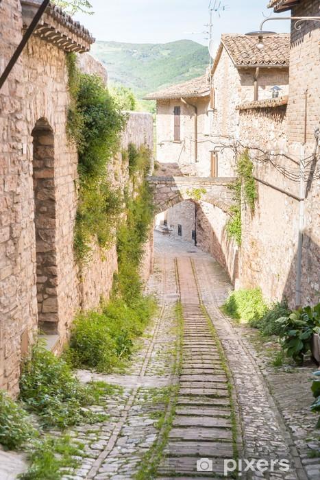 Vicolo storico Vinyyli valokuvatapetti - Eurooppa