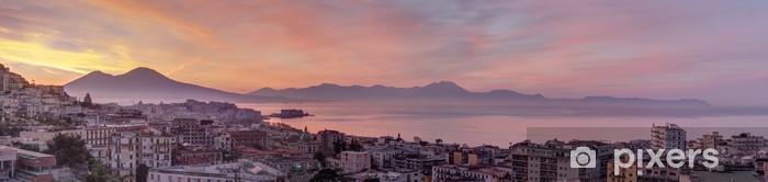 Fototapeta winylowa Panorama z Neapolu - Tematy