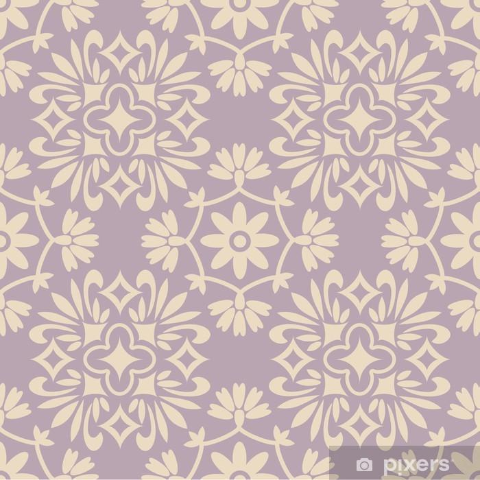 Abwaschbare Fototapete Seamless pattern - Fashion