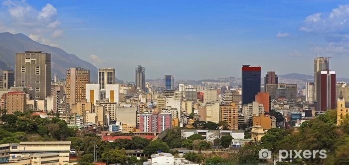 Fototapeta winylowa Skyline śródmieściu Caracas, stolicy Wenezueli - Ameryka