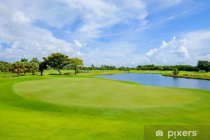 Golf Pixerstick Sticker - Individual Sports