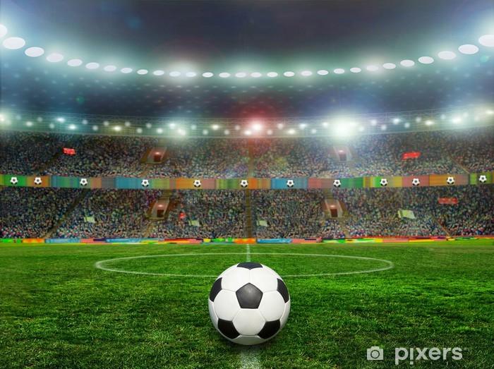 Naklejka Pixerstick Piłka nożna - Sporty drużynowe