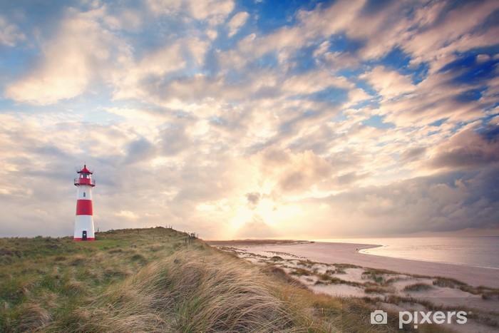 Fototapeta winylowa Wyspie Sylt w słońcu - Wakacje