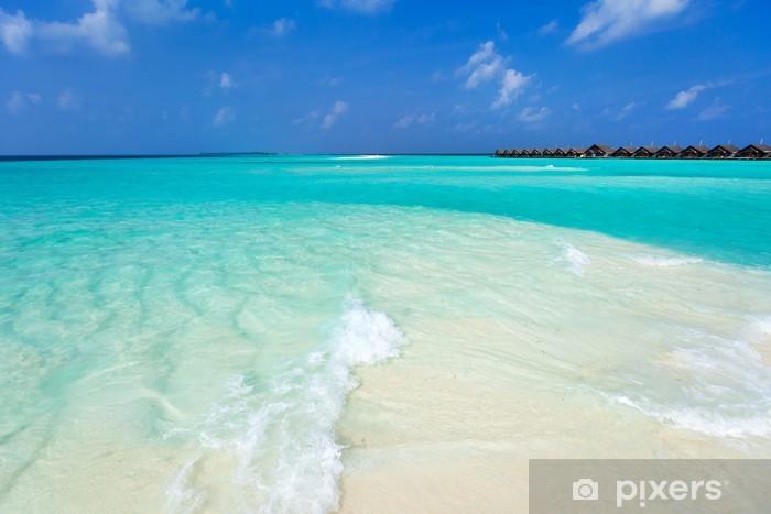 Papier peint vinyle Tropical beach - Eau