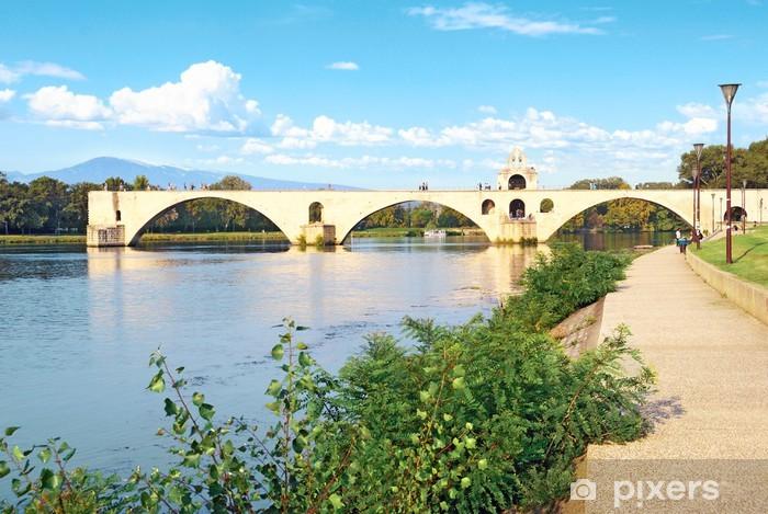 Papier Peint Pont D Avignon Et Mont Ventoux Pixers Nous Vivons
