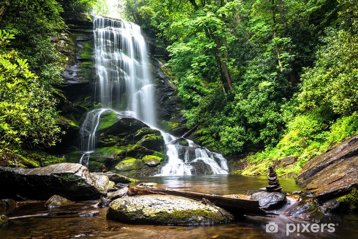 Fotomural Estándar Upper Falls Catabwa - Cascadas