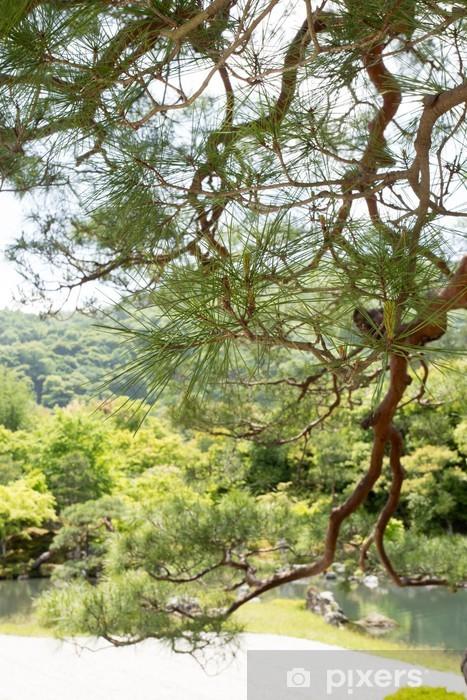 Papier Peint Jardin Japonais Vue Sur Le Jardin De Pierre Japonais
