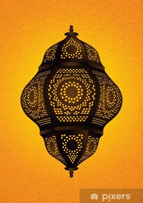 Fototapete Schöne Islamische Lampe Für Eid Ramadan Celebrations Vektor I