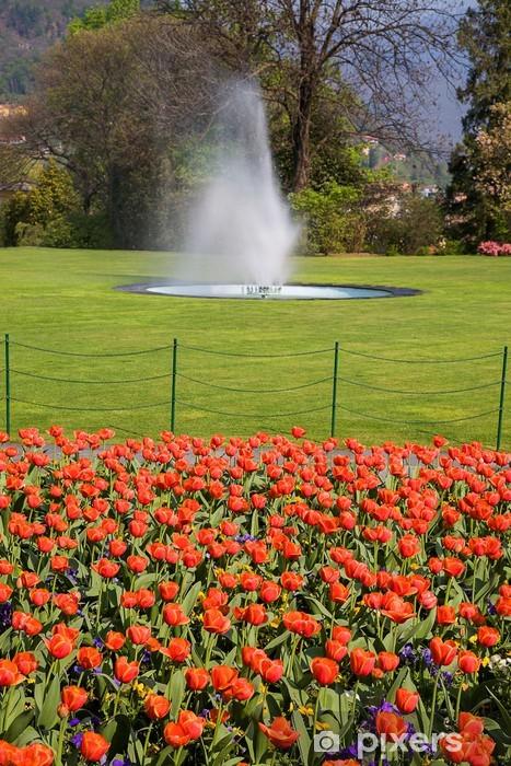 Fotomural Estándar Villa taranto - Casa y jardín