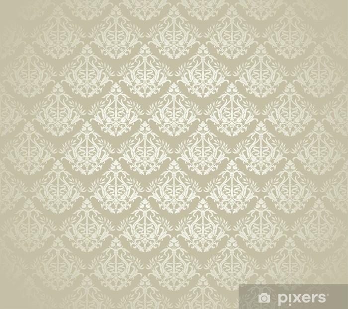 Naklejka Pixerstick Kwiat powtarzalne wzór - Tła