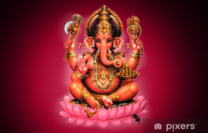 Fotomural Autoadhesivo Ganesh - Religión